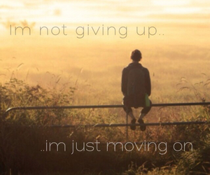 quotes, moving on, and break ups image