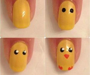 nails, Chick, and diy image