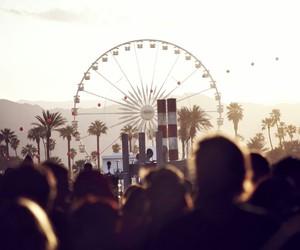 coachella, people, and summer image