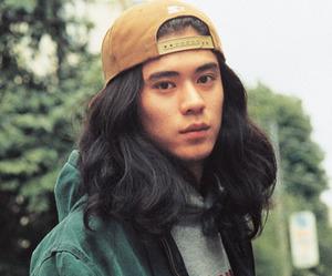 boy and long hair image