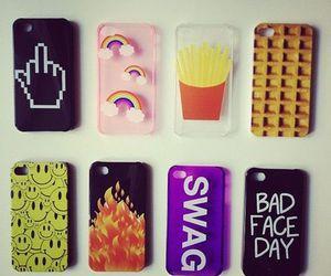 iphone, mask, and mc donalds image