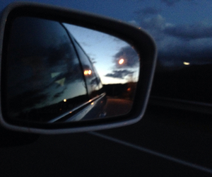 car, clouds, and freeway image
