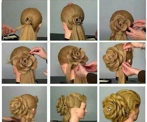 fashion, tutorials, and hairstyle image