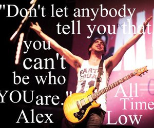 alex, life, and all time low image