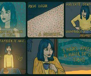 espanol, tristeza, and felicidad image