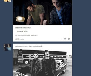 supernatural and teen wolf image