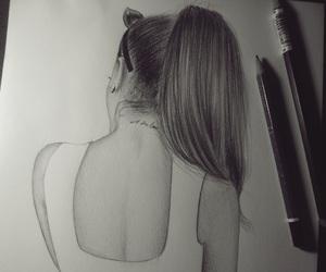 art, ariana grande, and drawing image