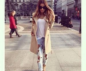 fashion, luxury, and jeans image