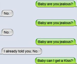 jealous, funny, and text image