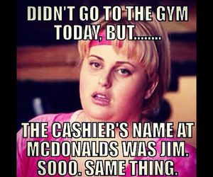 funny, gym, and fitness image