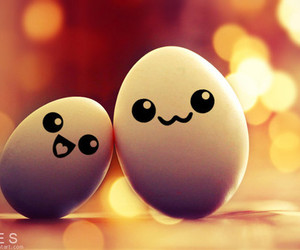 cute, eggs, and egg image