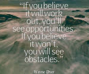 quote, life, and opportunity image
