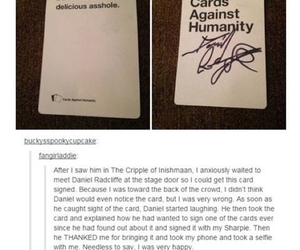 daniel radcliffe, harry potter, and tumblr image