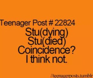 studying, teenager post, and studied image