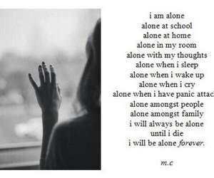 alone, sad, and depression image