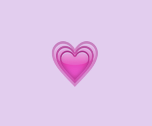 heart, pink, and simple image