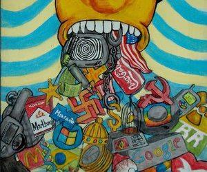 art, consumerism, and capitalism image