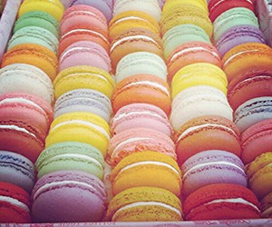 macaroons, food, and yum image