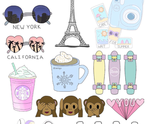 Collage, cute, and overlays. image