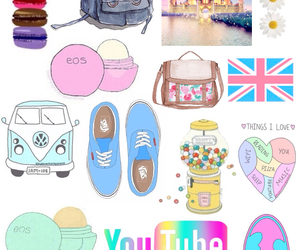Collage, overlays, and cute image