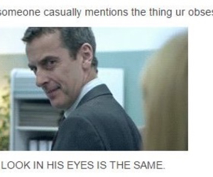 doctor who, fangirls, and peter capaldi image