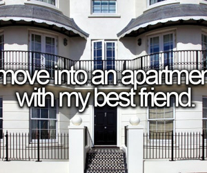 best friends, apartment, and house image