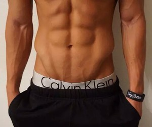 abs, Calvin Klein, and veins image