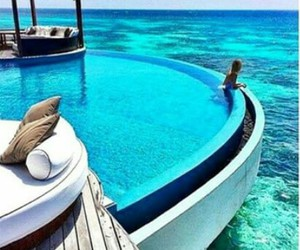meer, pool, and pretty image