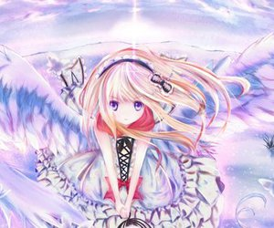 anime, angel, and wings image