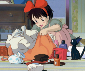 background, studio ghibli, and kiki's delivery service image