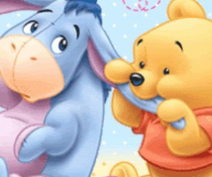 baby, pooh, and disney image