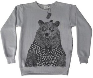 bear, sweater, and winter image
