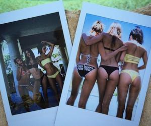 kendall jenner, hailey baldwin, and model image