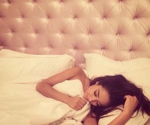 shay mitchell, pretty little liars, and sleep image