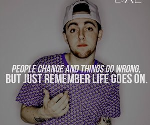 mac miller, quote, and life image