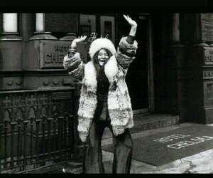 happy, janis joplin, and smile image