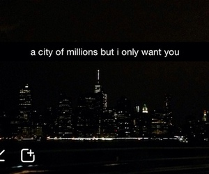 city, quotes, and snapchat image