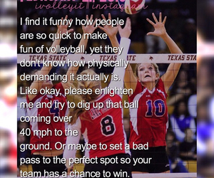 quote, saying, and volleyball image