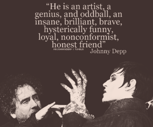 johnny depp and tim burton image