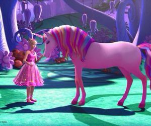 barbie and unicorn image