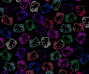 wallpaper, background, and hello kitty image
