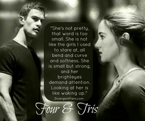 books, tris, and four image