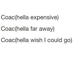 coachella and expensive image