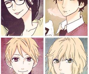 manga, hirunaka no ryuusei, and shishio satsuki image