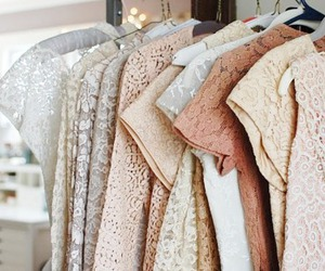 fashion, clothes, and lace image