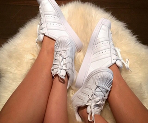 adidas, shoes, and ootd image