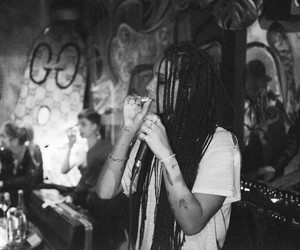 smoke and zoe kravitz image