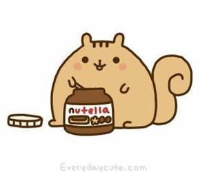 nutella, squirrel, and food image
