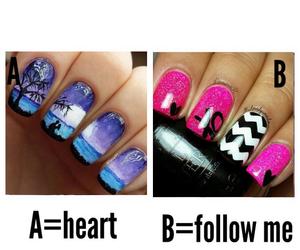 nails, nail art, and ? image
