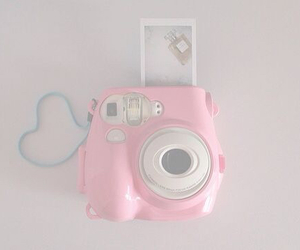 pink, cute, and camera image